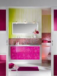 Brand New Colorful Bathrooms That Look Vintage Or Retro Colorful Bathroom