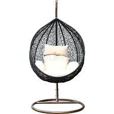 hanging egg chair outdoor rattan wicker outdoor hanging egg chair in black hanging egg chair outdoor hanging egg chair