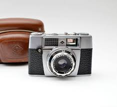 Agfa Light Meter Agfa Agfamatic Ia 35mm Film Vintage Camera With Leather Case