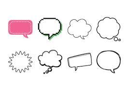 Word Bubble Templates Speech Bubbles Add Speech Bubbles To Photos Online Fotojet