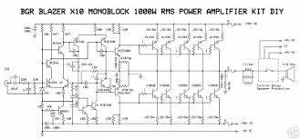 audio circuit diagram the wiring diagram 1000w audio power amplifier blazer circuit simple schematic diagram circuit diagram