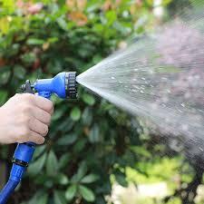 expandable garden hose pipe water spray