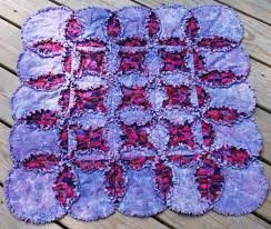 Cathedral Windows Rag Quilt Pattern &  Adamdwight.com