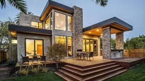 The Rustic Modern Design of Burlingame Residence in California   Home  Design Lover
