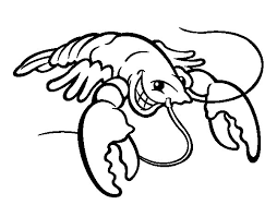 Small Picture lobster coloring page 100 images lobster coloring pages