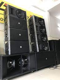 Dàn loa Array 30 đôi cao cấp, âm thanh chất lượng cao
