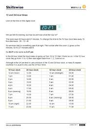 Military Time 24 Hour Time Conversion Chart Online Alarm