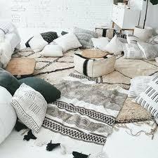 floor pillows living room
