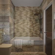 pretty mosaic tile bathroom on wall color tile shower beautiful ...