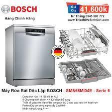 Máy Rửa Bát BOSCH SMS68MI04E Serie 6   Tổng Kho Bếp Chính Hãng Hà Nội