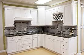 white shaker kitchen cabinets. All Wood Kitchen Cabinets (10 X 10 Kitchen) (Shaker Designer White) WITH White Shaker S