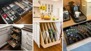 Genius Kitchen Storage Ideas For Cabinets Drawers And More Simple Kitchen Storage Design