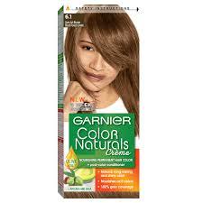 Garnier Light Brown Hair Color Price Garnier Color Naturals 6 1 Dark Ash Blonde Haircolor