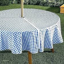 round tablecloth outdoor with umbrella hole 60 th images of no sew patio umb
