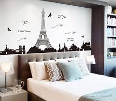 Paris Decoration For Bedrooms Sophisticated Feminine Bedroom Designs Charming Eiffel Tower Decor