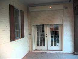 motorized rolling security shutters for