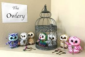 harry potter birthday party idea for the owlery with stuffed owls