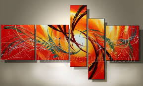 wall art handmade stretched canvas wall art abstract oil painting