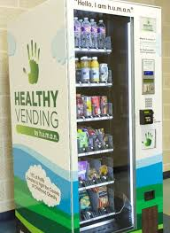 Healthy Choice Vending Machines New Resident Brings Healthier Vending Machines To Schools In San Antonio
