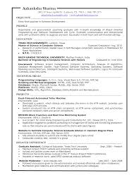 Cover Letter Computer Resume Template Computer Programmer Resume