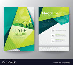 011 Template Ideas Abstract Triangle Brochure Flyer Design