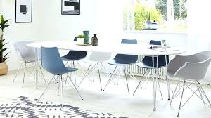 round dining table for 6 fascinating modern round dining table for 6 modern white satin oval