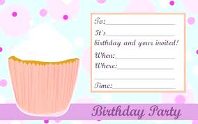 Party Invites Templates Free Girl Party Invitation Templates Free Girl Birthday Invitation