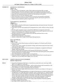 Hvac Technician Resume Samples Velvet Jobs