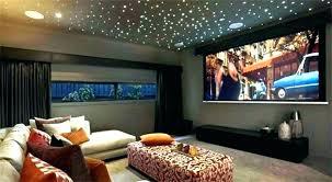 media room decor wall theater home theatre decorating ideas diy ro