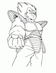 15 New Dragon Ball Z Coloring Pages Vegeta Karen Coloring Page