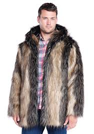 house lovely mens faux fur coats 11 pretty 14 catchy pieced fox hooded jacket