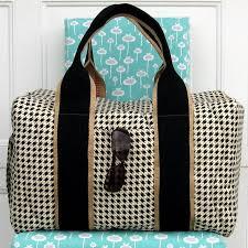 7 Stylish Duffel Bag Patterns You Can Sew in a Weekend & Travel Duffel Bag Pattern Adamdwight.com