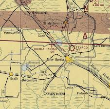New Orleans Sectional Chart Abandoned Little Known Airfields Louisiana Baton Rouge Area
