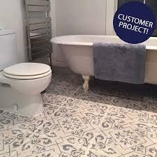 blue bathroom floor tiles. Harran Pattern Tiles Blue Bathroom Floor Tiles D