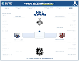 Hockey Playoff Standings Chart Nhl Playoff Bracket 2019 Printable Pdf Official Stanley