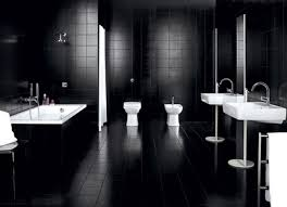 modern gothic bathroom acrylic freestanding bathroom shower spa overflow modern bathtub perfect pebble tile vanity 2 door 4 drawer espresso finish top not