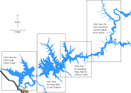 Lake Powell Map Index