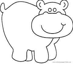 Coloring Pages Hippo 7 Harry Potter Hippogriff Betterfor