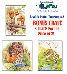 Amazon Com Beatrix Potter Deluxe Treasury 2 3 Counted Cross
