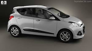 Hyundai i10 2014 by 3D model store Humster3D.com - YouTube