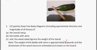 draw free body diagrams (including approximate dir chegg com free woodworking plans pdf at Free Wood Diagrams