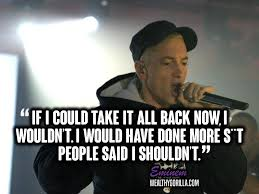 Rap Quotes 2017 Custom 48 Greatest Eminem Quotes Lyrics Of All Time Wealthy Gorilla