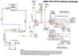 mercury outboard wiring diagrams mastertech marin merc 200