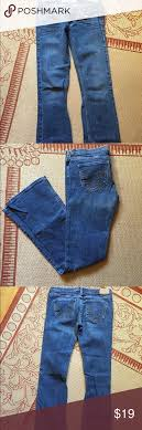 Hollister Jeans Waist Size Chart Hollister Dark Wash Jeans 25 26 Boot Cut Low Rise Hollister
