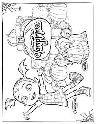 ♪ if you know someone. Kids N Fun Com 4 Coloring Pages Of Vampirina