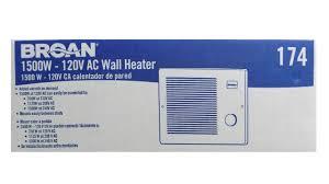 Gas Wall Heater Installation Broan Wall Heater Installation Youtube