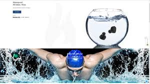 well that looks like a really cool feature for an athletic individual earbuds you can swim with waterproof wow