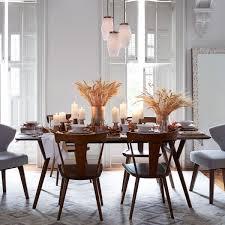 ... West Elm wood table, We Parker Expandable Dining Table Mid Century  Expandable Dining Table Acorn Elegant Contemporary