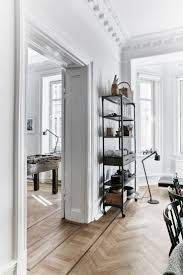 natural lighting in homes. frenchstyle apartment herringbone floors vipp lamps and natural light in a modern lighting homes