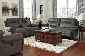 Signature Design by Ashley Austere Gray Double Reclining